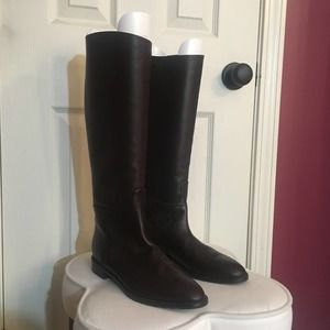 Stuart Weiztman Brown Riding Boots Size 8M